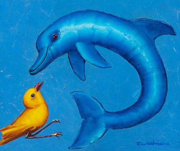 Aldo Turchiaro - L'uccello e il delfino