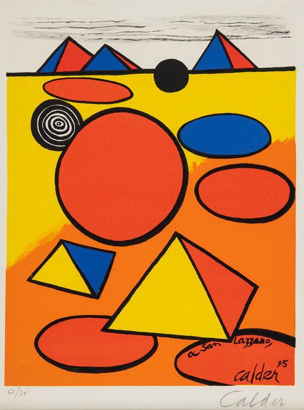 Alexander Calder - Senza titolo