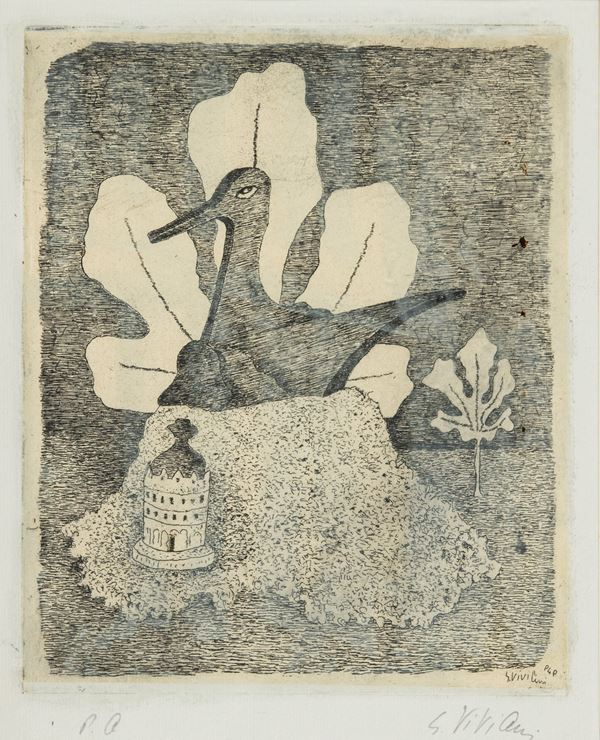Giuseppe Viviani - Stampa e foglia