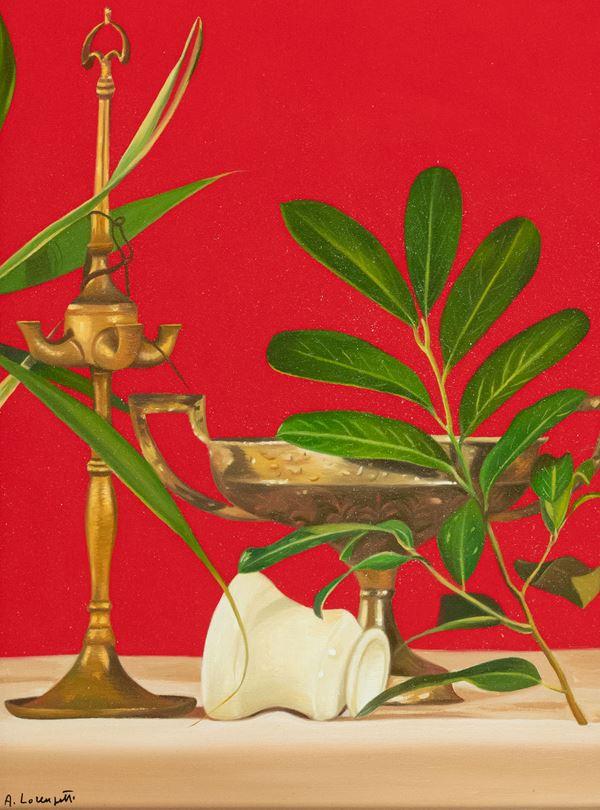 Adolfo Lorenzetti - Natura morta