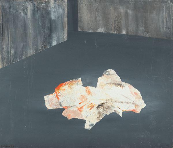 Francesco Vaccarone : Senza titolo 1973 - Olio su tela - Asta Arte Moderna e Contemporanea, '800 e'900 - Fabiani Arte