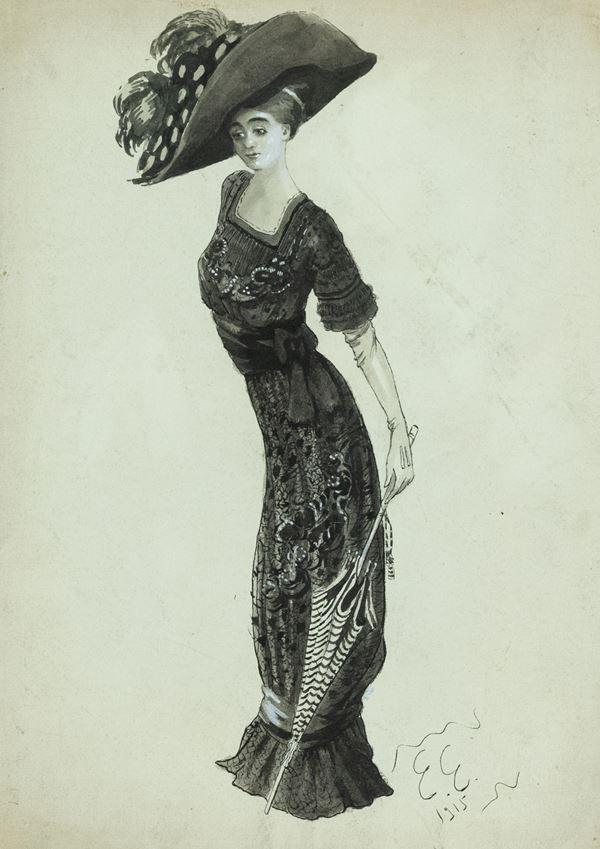 Edmund Edel - Figura femminile