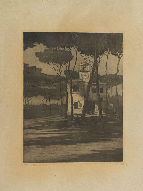 Pietro D' Acchiardi - Villa borghese