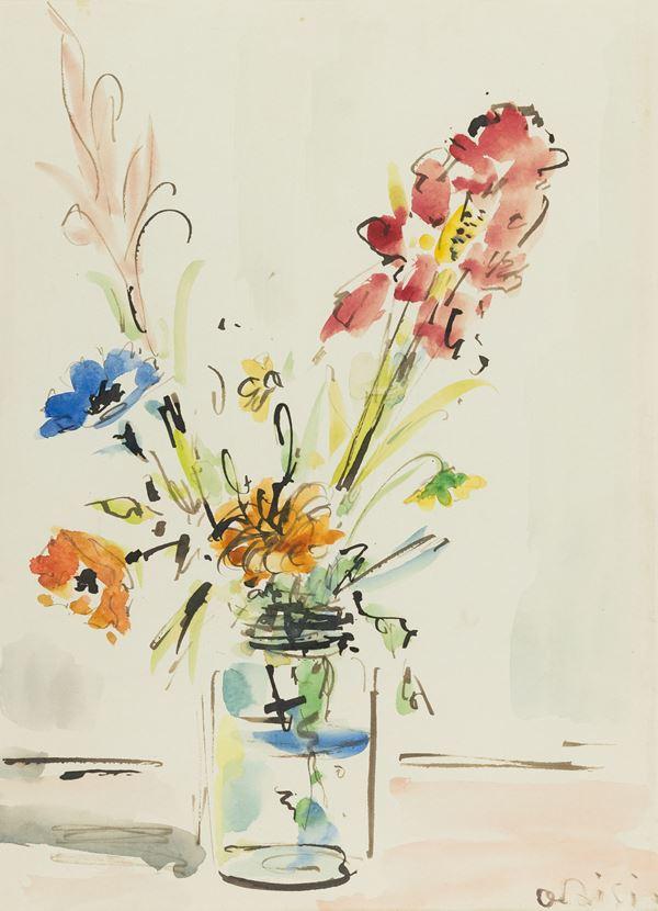 De Pisis Filippo (Attribuito) - Vaso di fiori