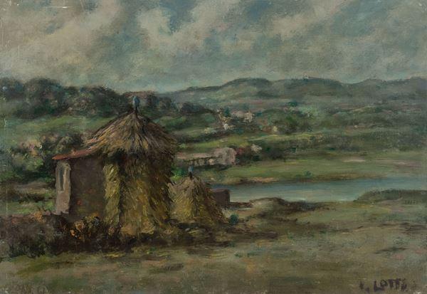 Italo  Lotti - Paesaggio