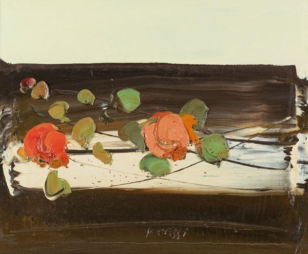 Sergio Scatizzi - Natura morta con fiori