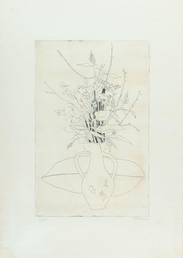 Enrico Paulucci - Vaso di fiori