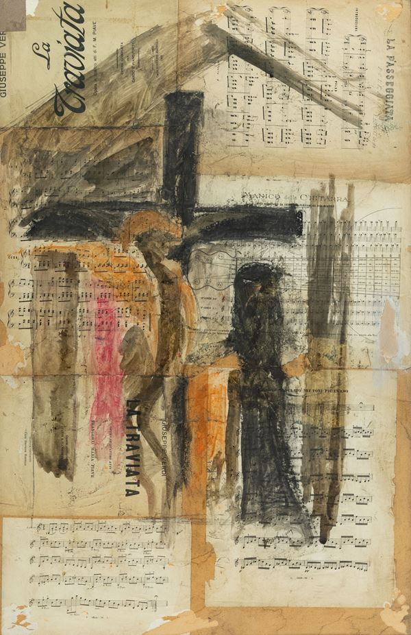 Lorenzo Viani - Studio per il cenacolo