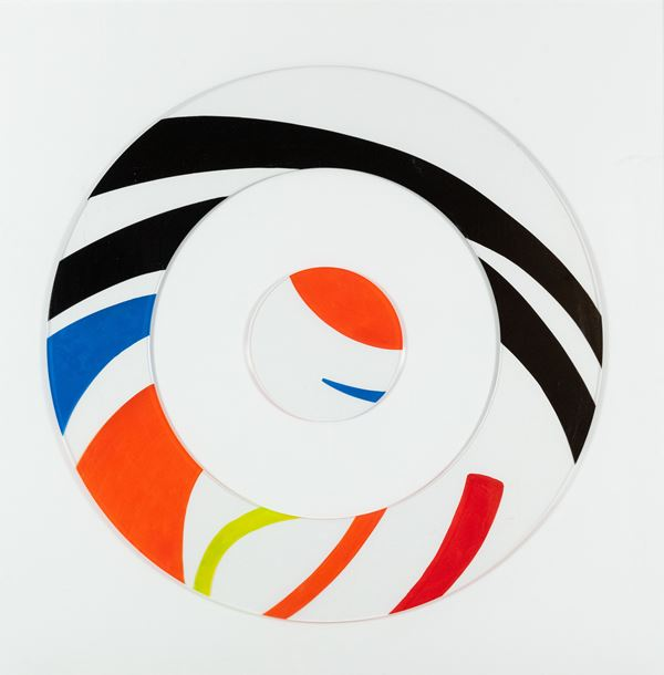 Sara Campesan - Scomposizione circolare 4 spirali