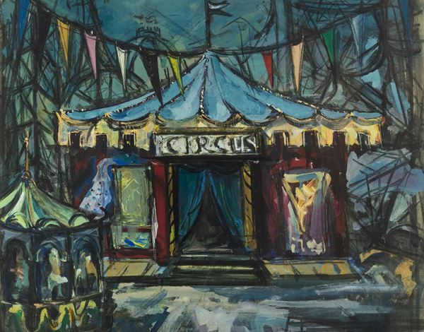 Luigi Spazzapan - Circus