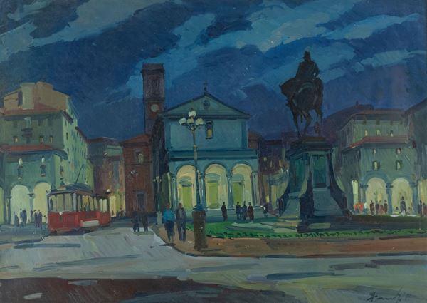 Piero Marchi - Vecchia Piazza Grande