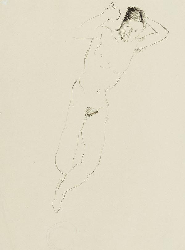 Marino Marini - Nudo sdraiato