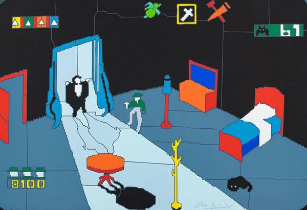 Ugo Nespolo - Videogame