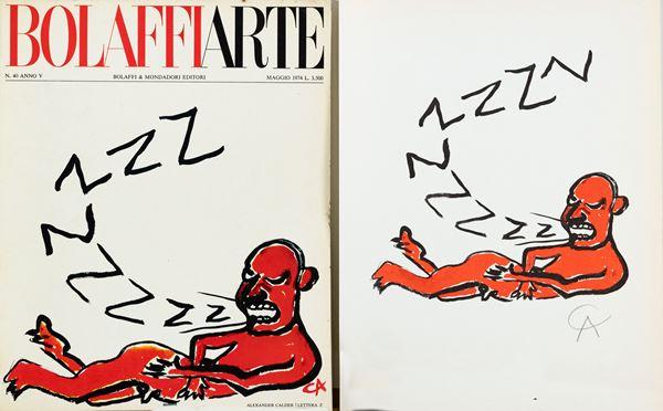 "Alexander Calder - La lettera ""Z"""