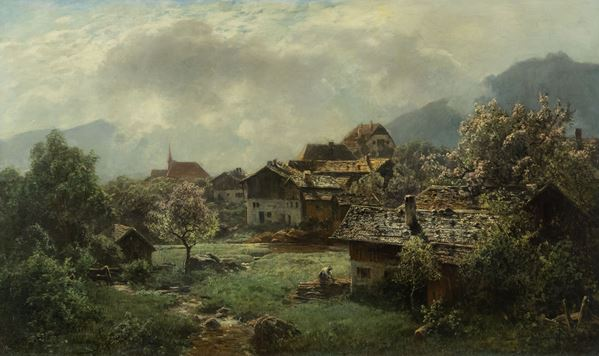 Eduard II Schleich - Paesaggio