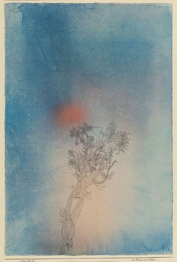 Paul Klee - Dir pflanze und ihr feind
