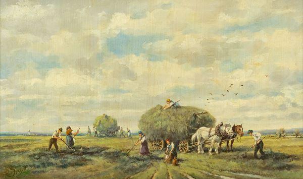 Johann Sperl - Contadini a lavoro