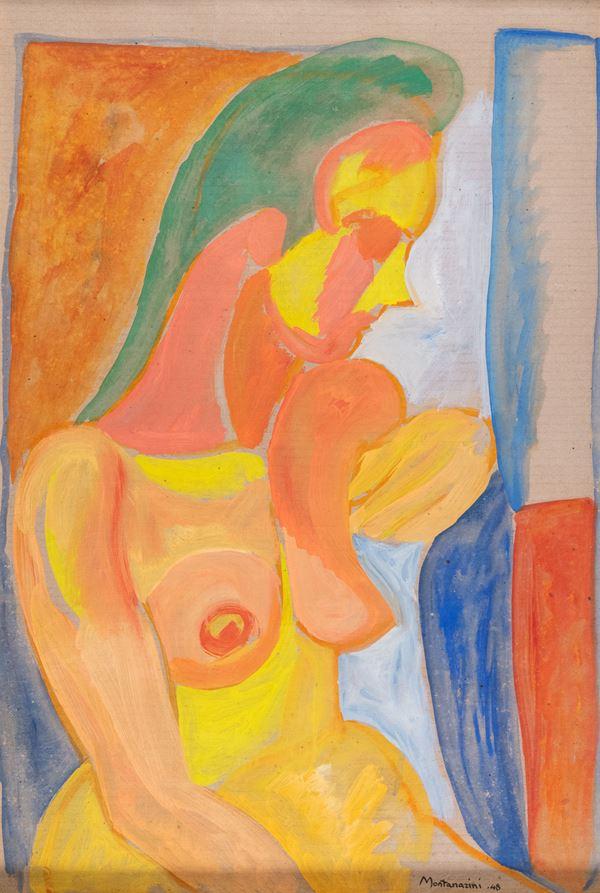 Luigi Montanarini - Nudo di donna