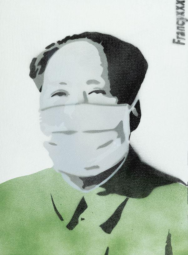 Francyxxx - Mao with mask