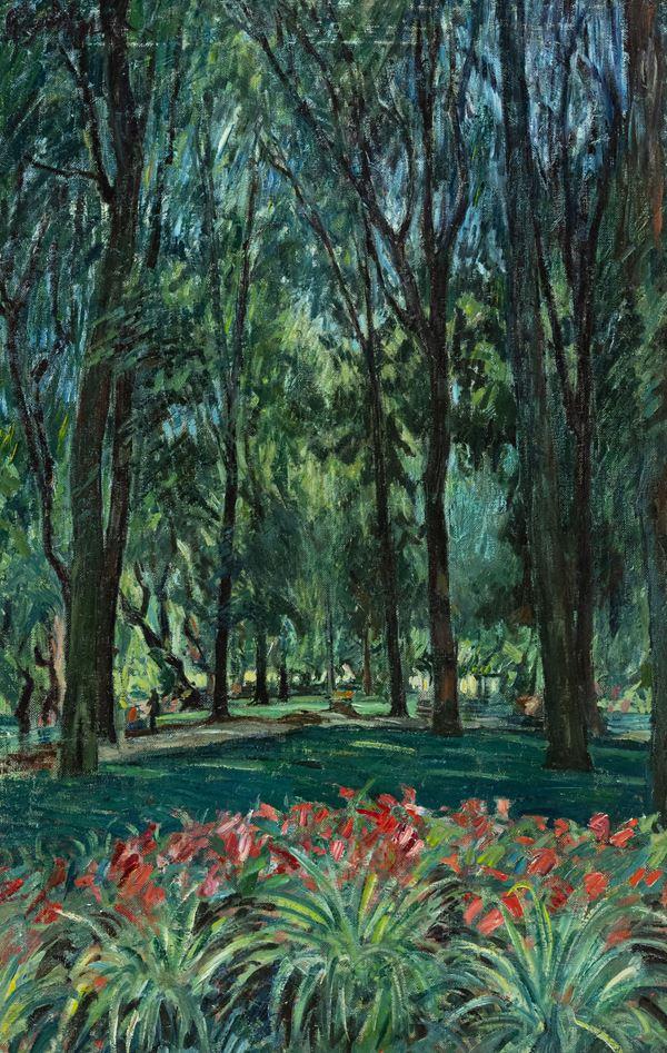 Paulo Ghiglia - Giardini di Villa Borghese