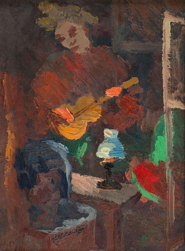 Guido Guidi - Figura con chitarra
