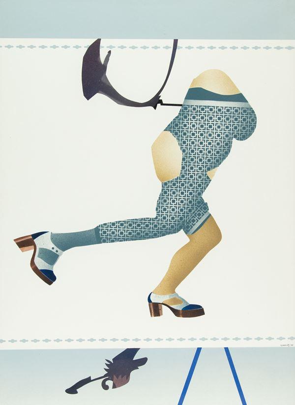 Giuseppe Guerreschi - Figura femminile che corre