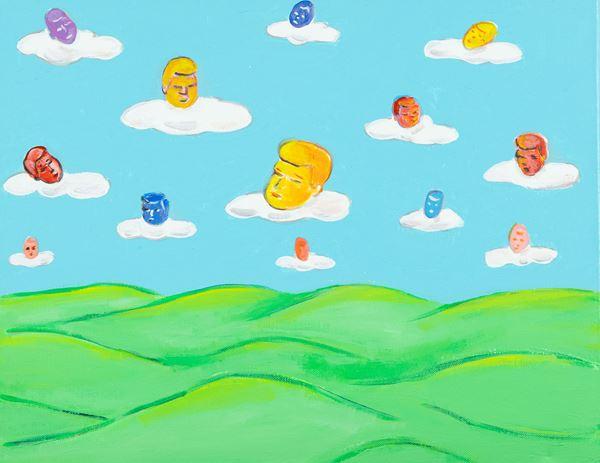 Gianni Cella - Testine tra la nuvole