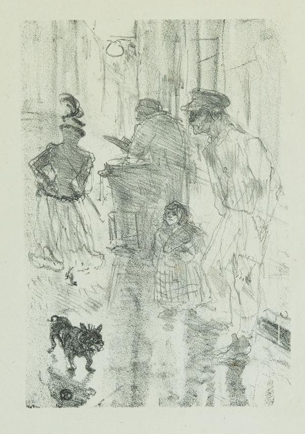 Henri Toulouse Lautrec - Le marchand de marrons
