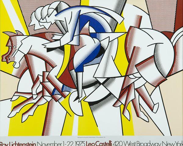 Roy Lichtenstein - The red horseman