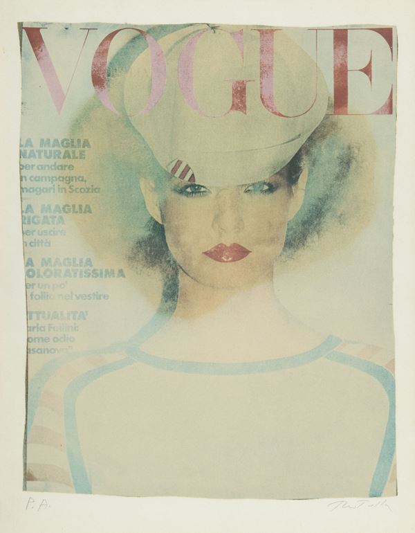 Mimmo Rotella - Vogue