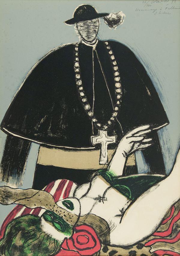 Guillaume Corneille - Hommage a Fellini - il bidone