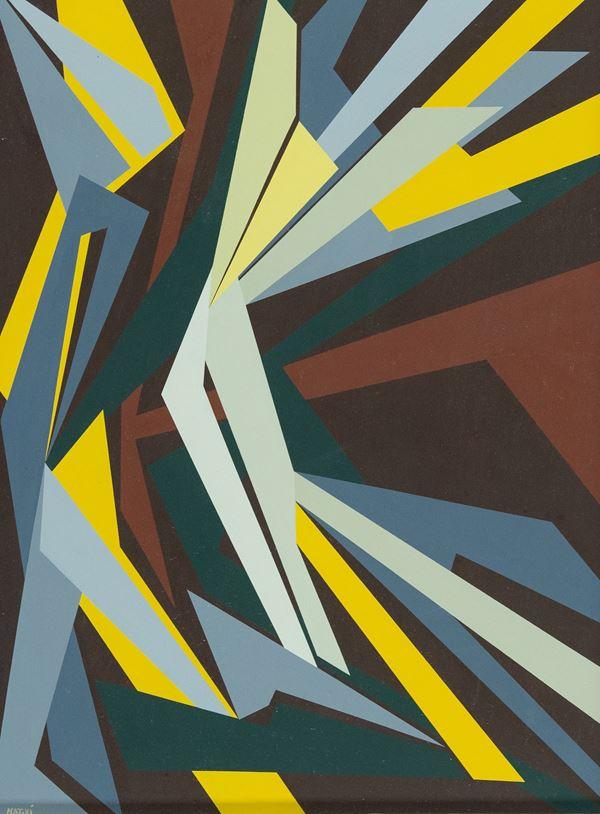 Gualtiero Nativi - Spazio dinamico-composizione