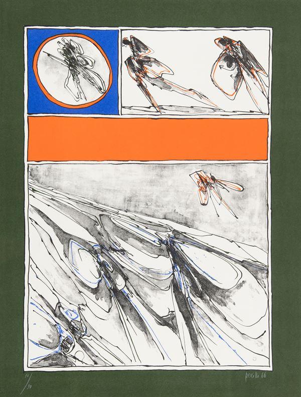 Achille Perilli - Senza titolo