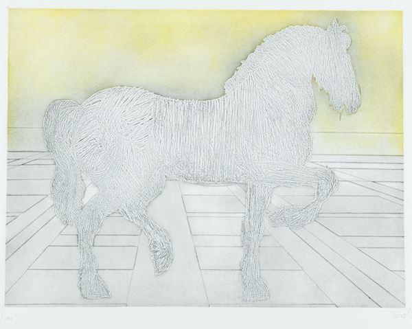 Mario Ceroli - Cavallo