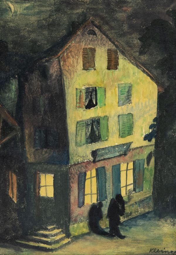 Kleines - Notturno con figura