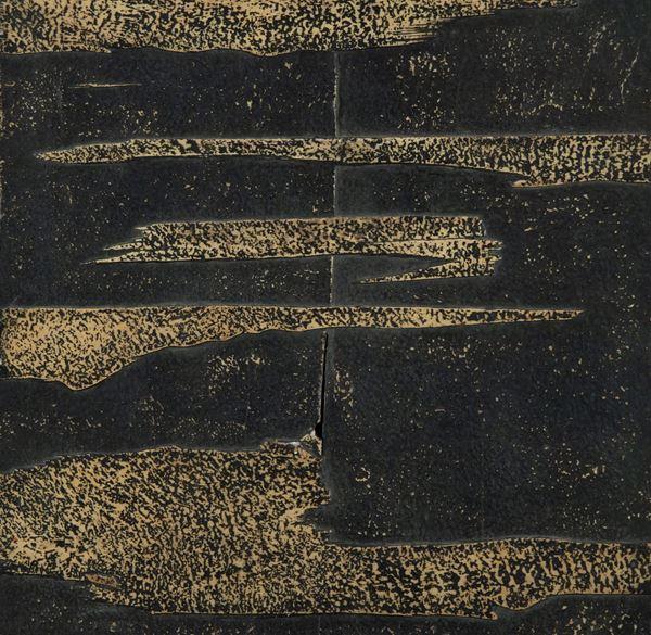 Agenore Fabbri : Senza titolo 1950 - Olio e tecnica mista su tavola - Asta Arte Moderna e Contemporanea, '800 e'900 - Fabiani Arte