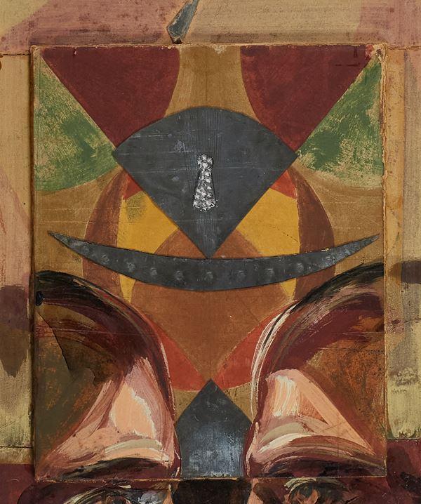 Bruno Ceccobelli - I loro occhi soli