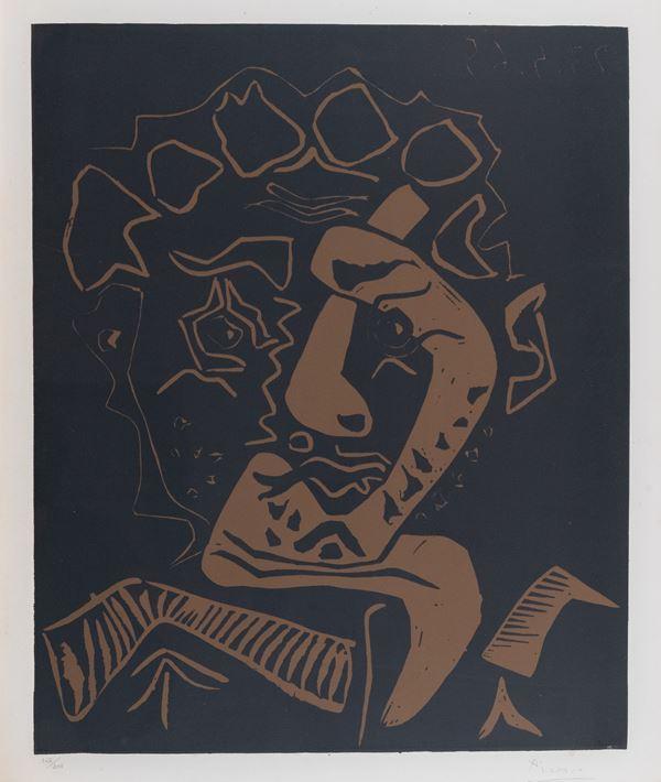 Pablo Picasso - Tete d'Histrion (Le danseur)