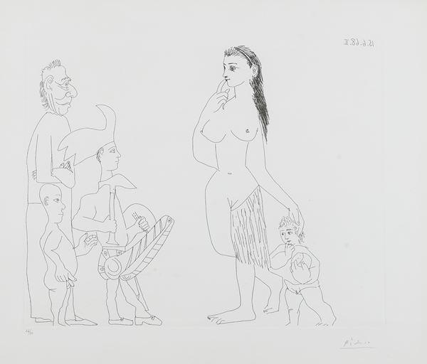 Pablo Picasso - Senza titolo