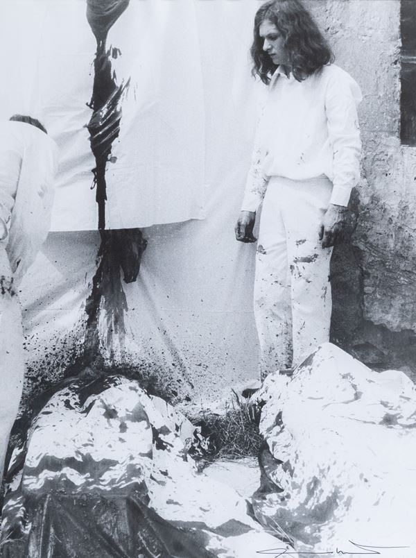 Hermann Nitsch - Performance