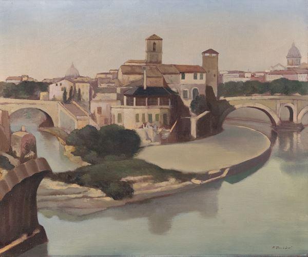 Francesco Trombadori - Isola Tiberina