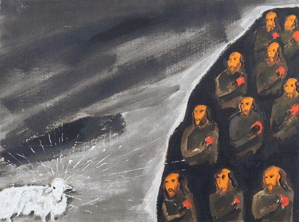 Enzo Cucchi - La monaca