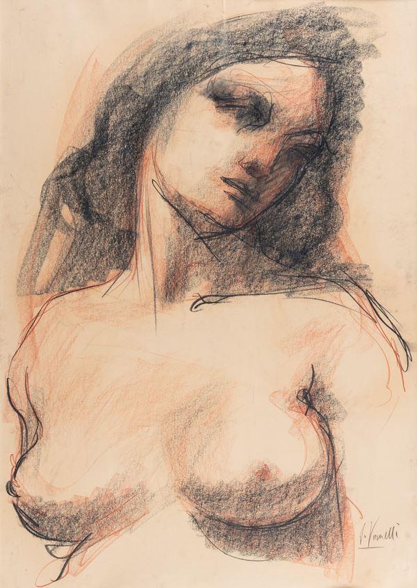 Iorio Vivarelli - Busto di donna
