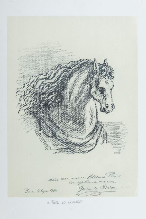 Giorgio De Chirico - Testa di cavallo