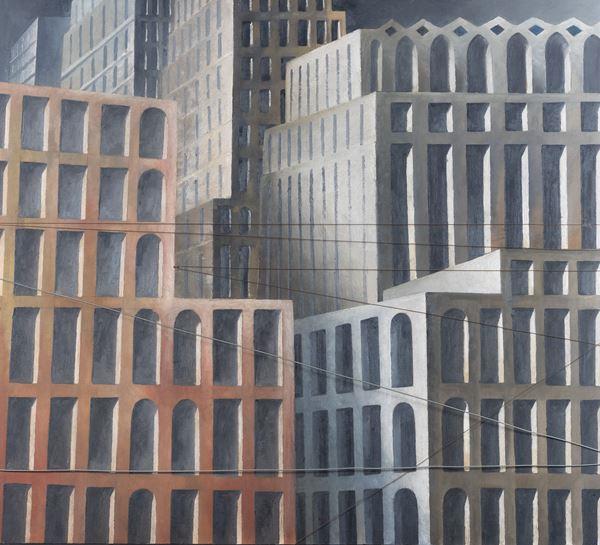 Marcello Scuffi - Dalla serie i Paesaggi della memoria - Ricordo di New York