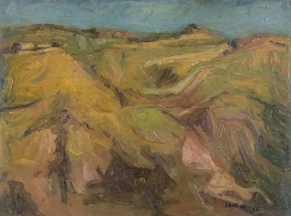 Sergio Scatizzi - Paesaggio in Valdinievole