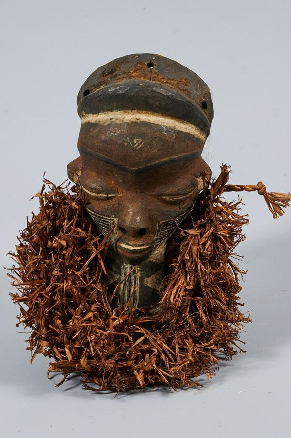 Maschera miniatura Mbuya Muyombo - Pende